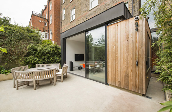 casa de madera minimalista das haus funes